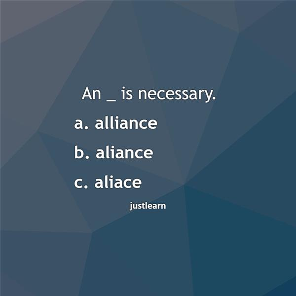 An _ is necessary.