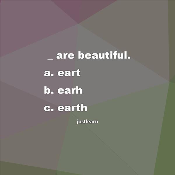 _ are beautiful.
