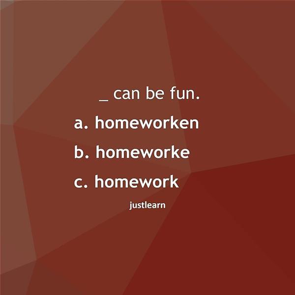 _ can be fun.