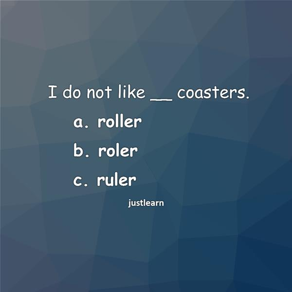 I do not like __ coasters.