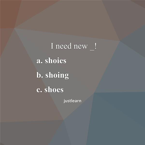 I need new _!