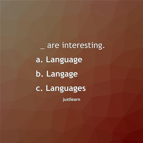 _ are interesting.
