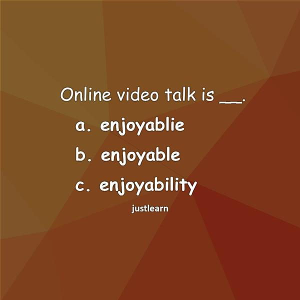 Online video talk is __.