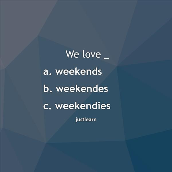 We love _