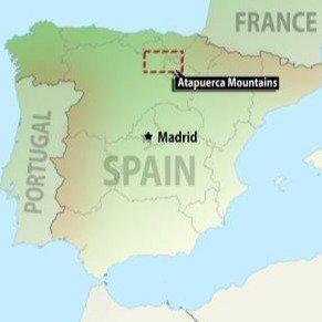 spanish map
